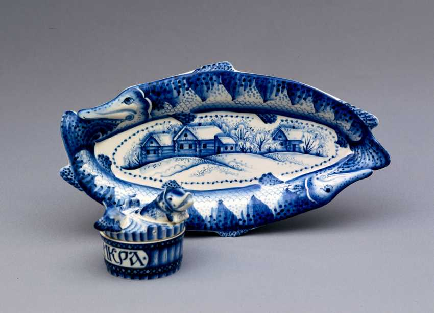 Sergey Karpukhin. Vase caviar pike - photo 3