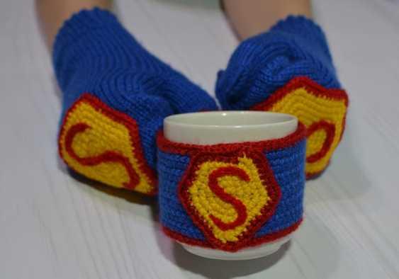 Tanya Derksch. Mittens Superman - photo 1