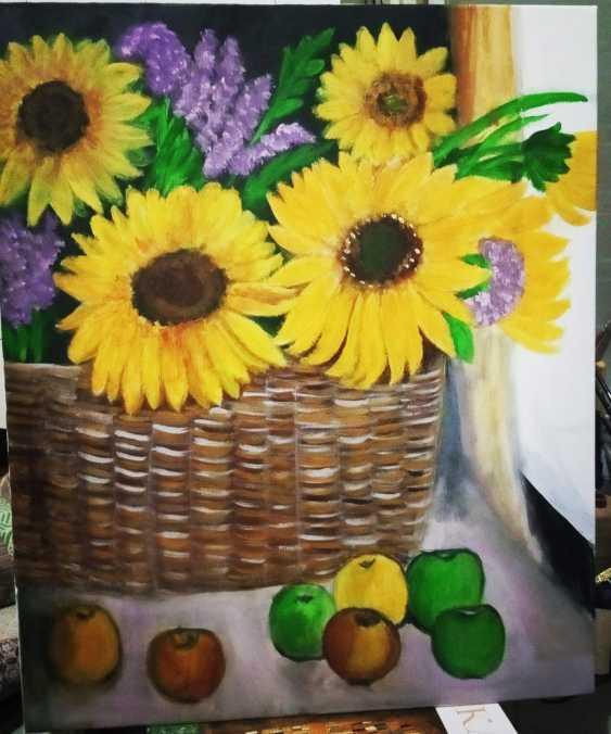 Alena Serebryanskya. Still Life Sunflowers - photo 1