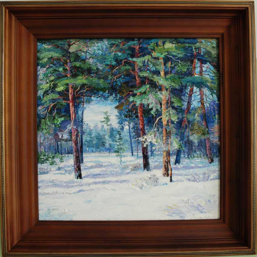 """Sergey Kolokoltsov. """"L'hiver dans la forêt."""" - photo 1"""
