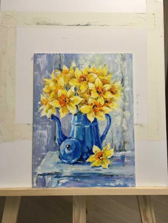 Natalya Luzenko. Yellow daffodils - photo 1