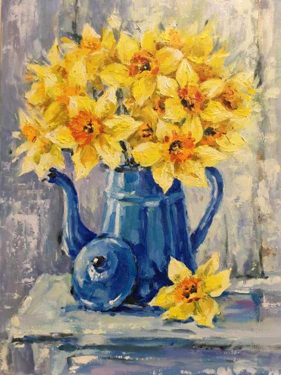 Natalya Luzenko. Yellow daffodils - photo 4