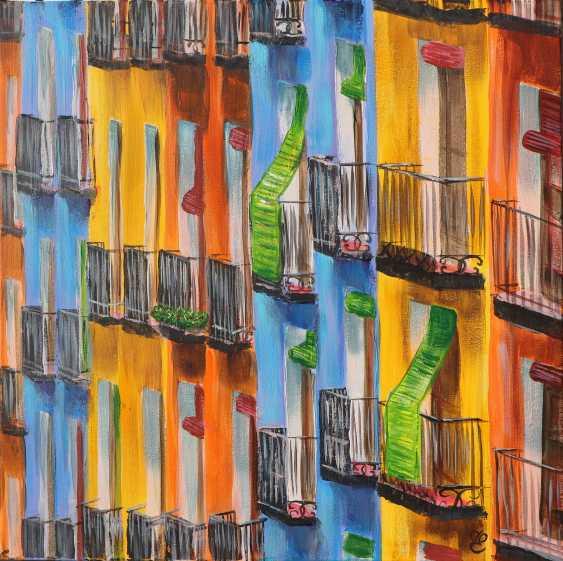 "DMYTRO YEROMENKO. Balkone ""Sonderpreis"" 50 * 50 - Foto 1"