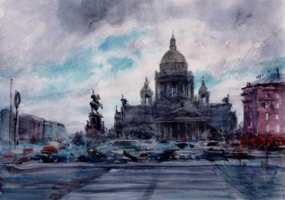 Aleksey Tochin. Isaac. Sketch watercolor - photo 1