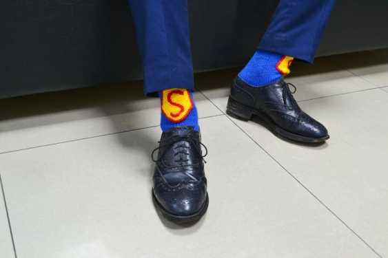 Tanya Derksch. socks for Superman - photo 4