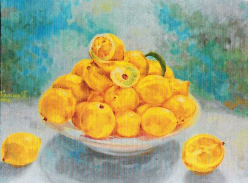 Tatiana Celombitko. Lemons - photo 1
