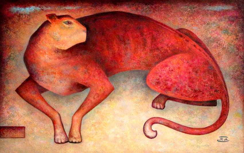 Rafail Aliyev. Red cat - photo 1