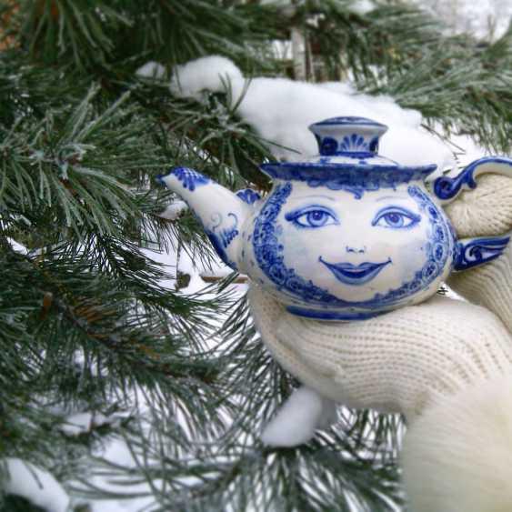 Sergey Karpukhin. Matrioshka - teapots set - three teapots - photo 2