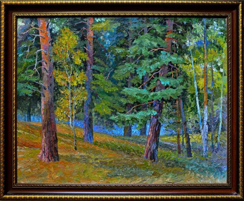 """Sergey Kolokoltsov. """"Im Wald"""". - Foto 1"""