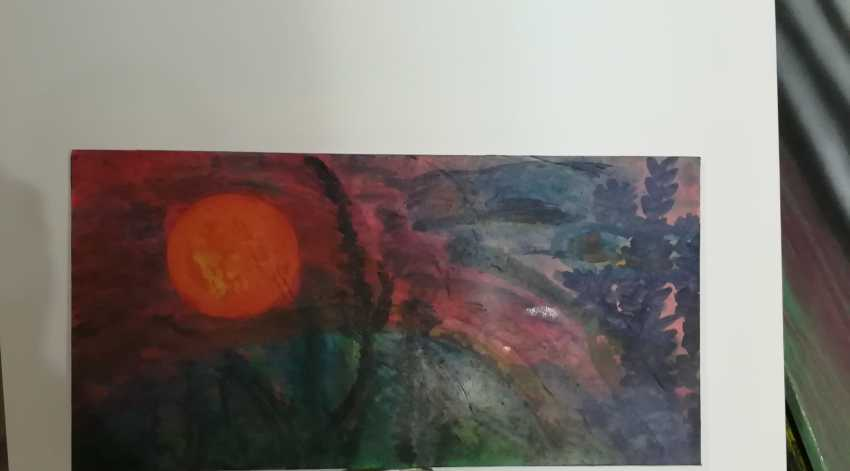 "Alexandro de`Ab. ""Pink Еvening"" (RedTwilight) (Sunset) - photo 1"