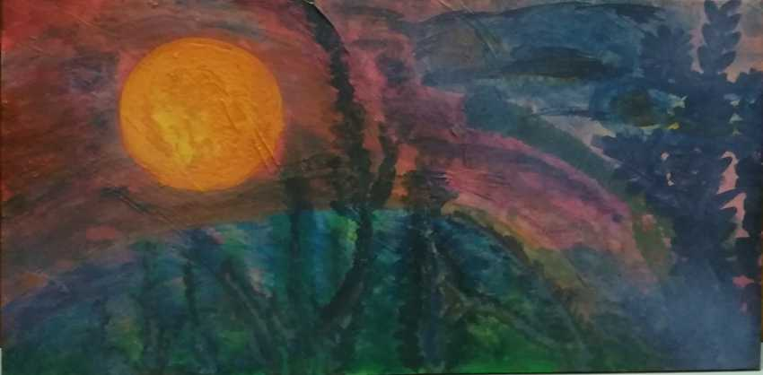 "Alexandro de`Ab. ""Pink Еvening"" (RedTwilight) (Sunset) - photo 3"