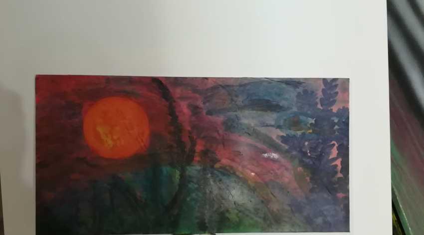 "Alexandre de`Ab. ""Pink Еvening"" (RedTwilight) (Sunset) - photo 1"