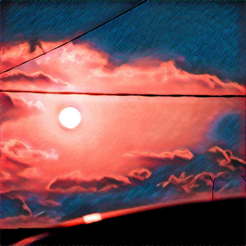 "Alexandre de`Ab. ""Pacific Red Sunset"" - photo 1"