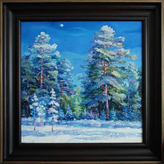 """Sergey Kolokoltsov. """"Long shadows of winter fluffy"""". - photo 1"""