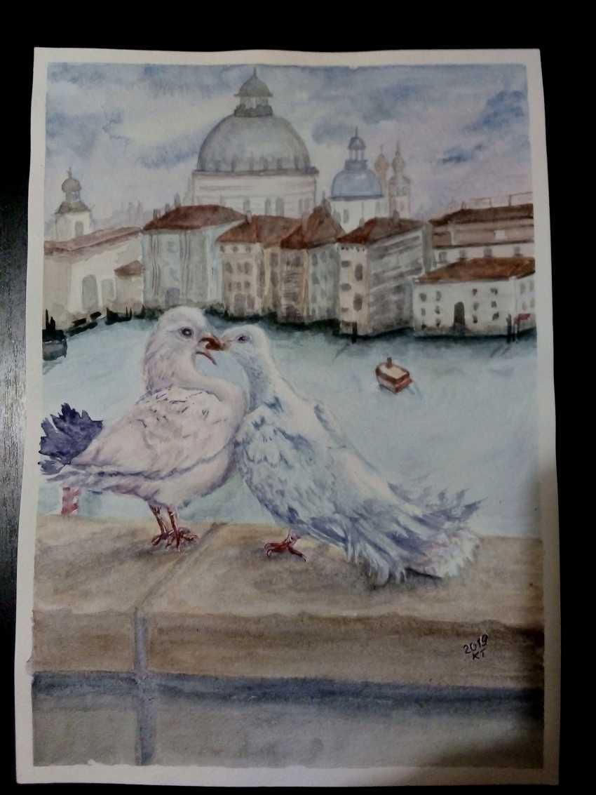Tatyana Kazimir. Les pigeons - photo 1