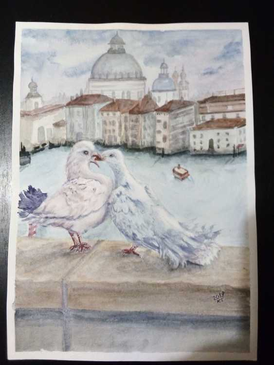 Tatyana Kazimir. Les pigeons - photo 2