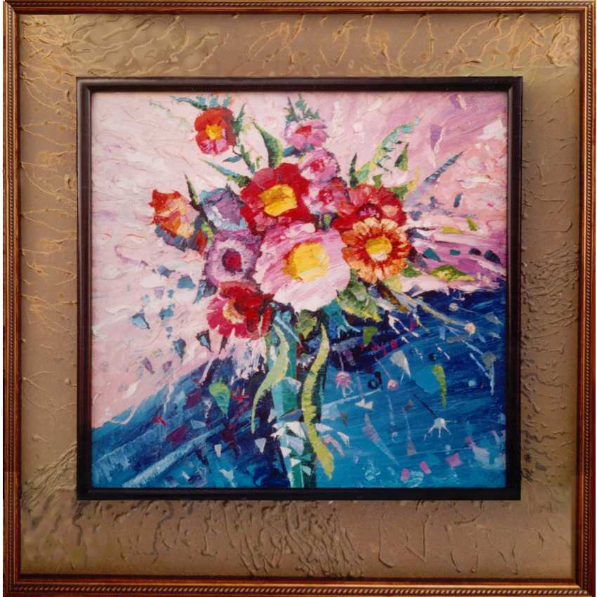 "Sergey Kolokoltsov. ""Still life with flowers"". - photo 1"