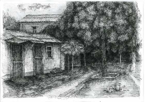 "Yuri Kalashnikov. ""Stubs of old Aleksandrovsk"" - photo 1"