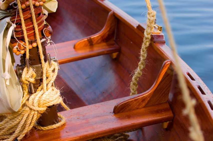 Igor Marukha. Wooden sailing rowboat Whitehall - photo 2