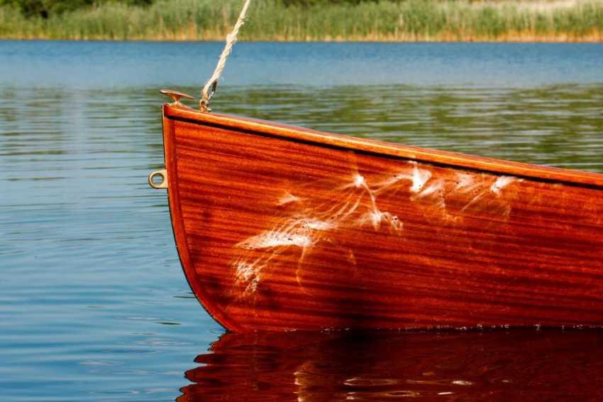 Igor Marukha. Wooden sailing rowboat Whitehall - photo 3