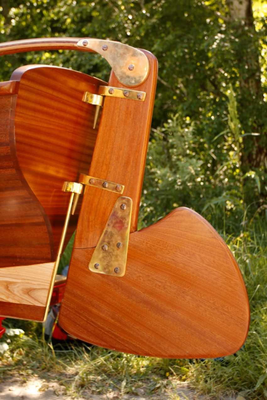Igor Marukha. Wooden sailing rowboat Whitehall - photo 12