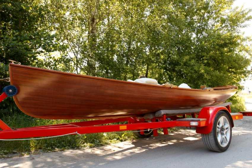 Igor Marukha. Wooden sailing rowboat Whitehall - photo 13