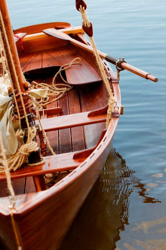Igor Marukha. Wooden sailing rowing boat Whitehall - photo 1