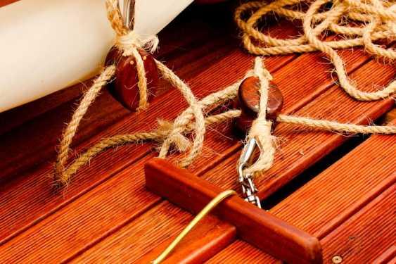 Igor Marukha. Wooden sailing rowing boat Whitehall - photo 5