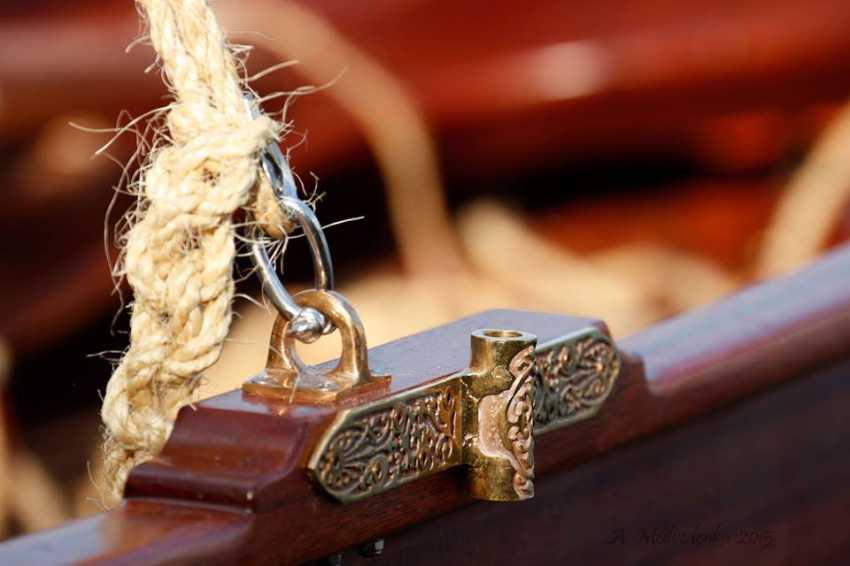 Igor Marukha. Wooden sailing rowing boat Whitehall - photo 10
