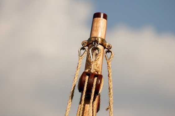 Igor Marukha. Wooden sailing rowing boat Whitehall - photo 11