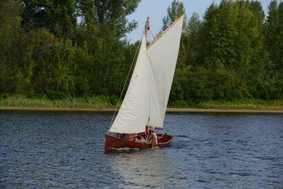 Igor Marukha. Wooden sailing rowing boat Whitehall - photo 14