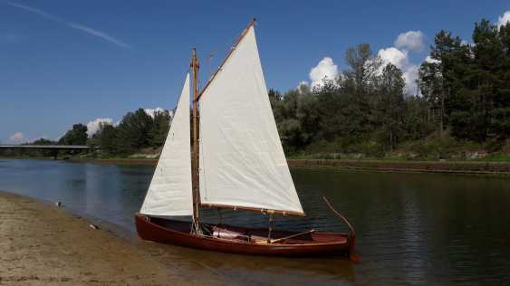 Igor Marukha. Wooden sailing rowing boat Whitehall - photo 16