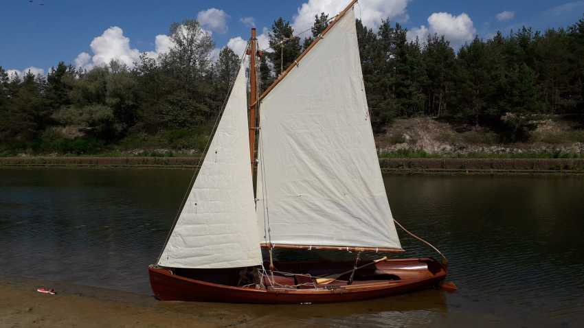 Igor Marukha. Wooden sailing rowing boat Whitehall - photo 17