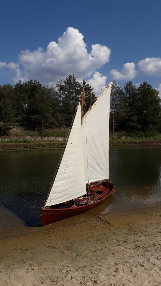 Igor Marukha. Wooden sailing rowing boat Whitehall - photo 18