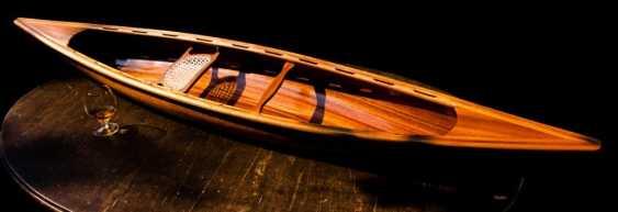 Igor Marukha. Canoe model - photo 1
