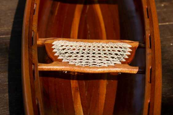 Igor Marukha. Canoe model - photo 3