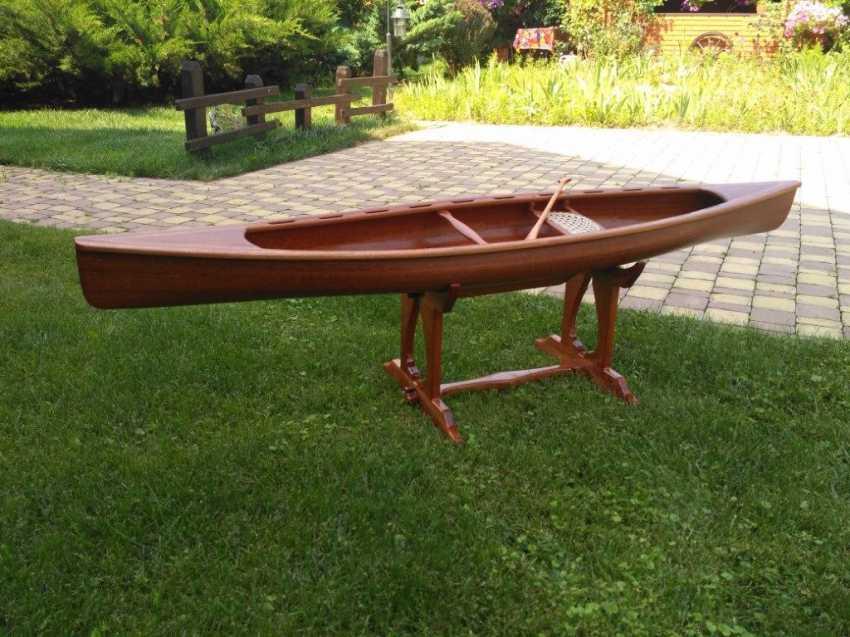 Igor Marukha. Canoe model - photo 17