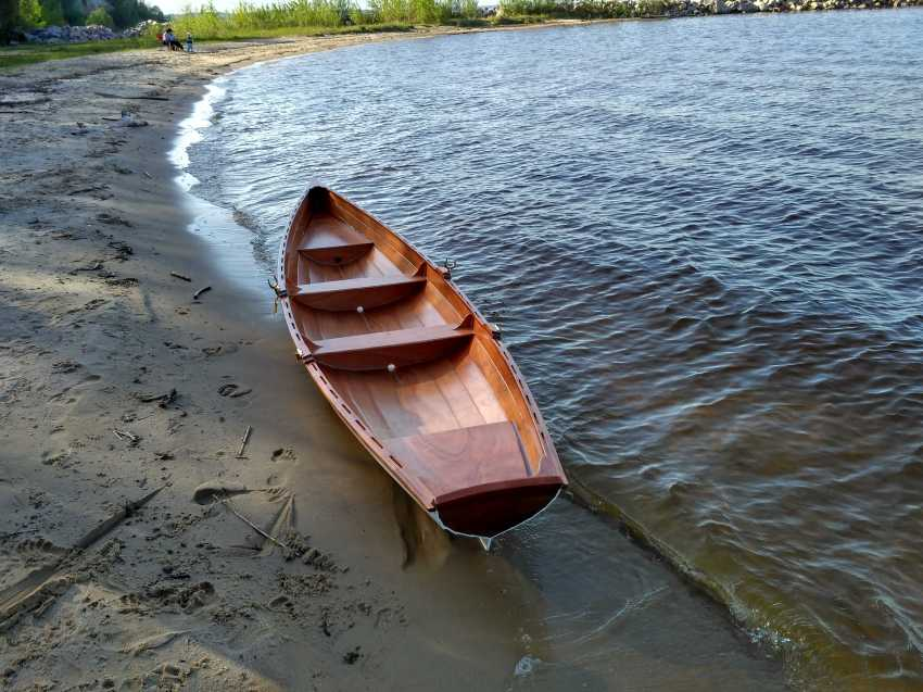 Igor Marukha. Annapolis wooden boat - photo 3