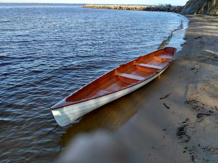 Igor Marukha. Annapolis wooden boat - photo 4