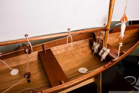 Igor Marukha. Model of the legendary wooden boat Whitehall - photo 3