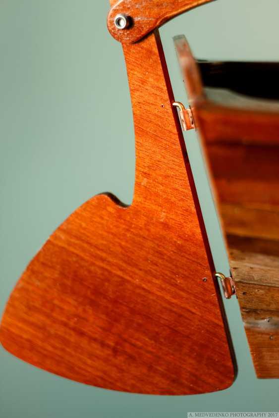 Igor Marukha. Model of the legendary wooden boat Whitehall - photo 12