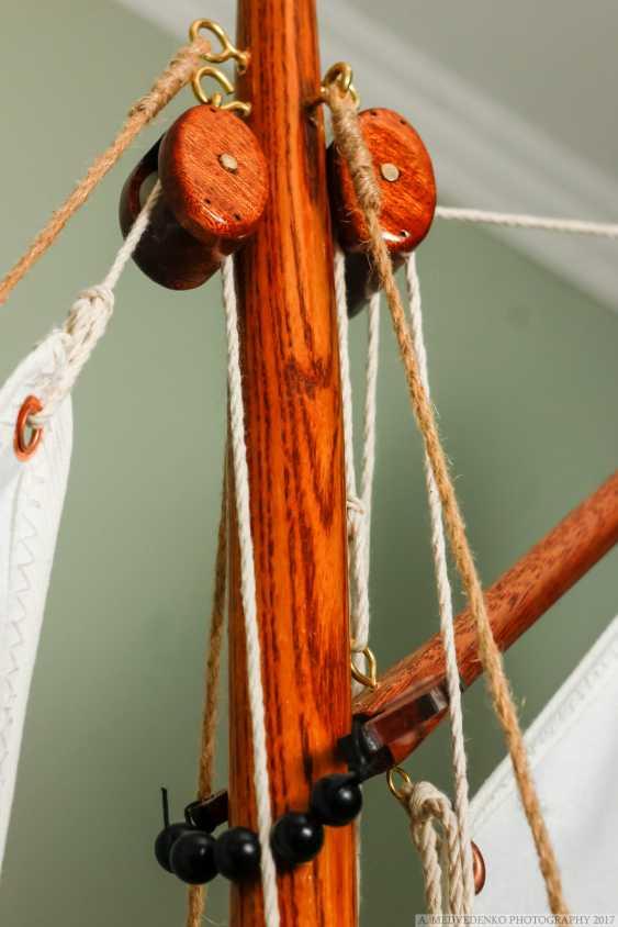 Igor Marukha. Model of the legendary wooden boat Whitehall - photo 14
