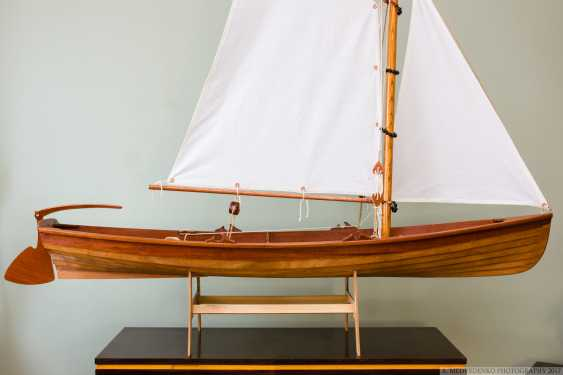 Igor Marukha. Model of the legendary wooden boat Whitehall - photo 16