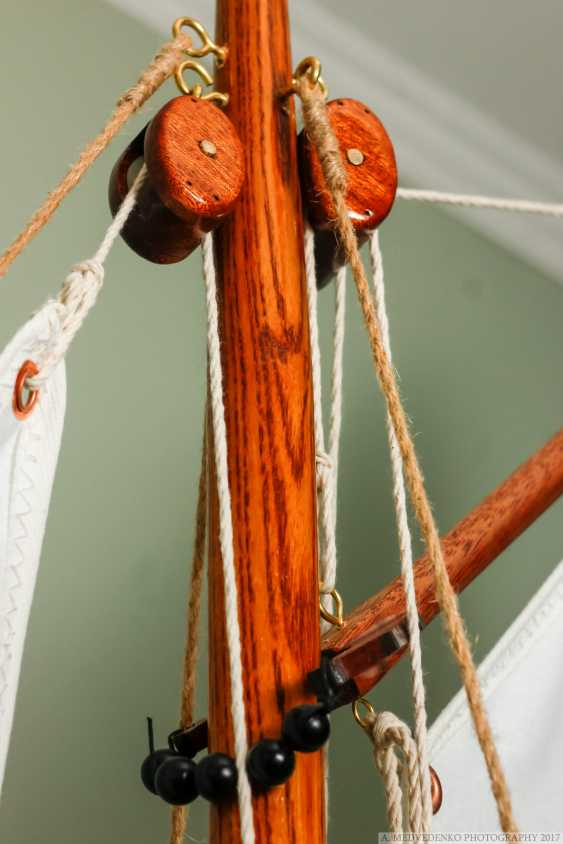 Igor Marukha. The model of the legendary wooden boat Whitehall - photo 14