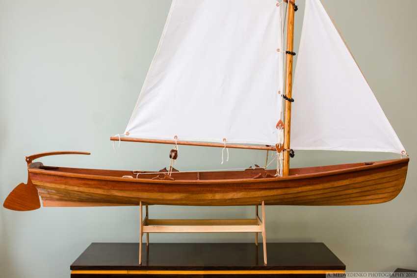 Igor Marukha. The model of the legendary wooden boat Whitehall - photo 16