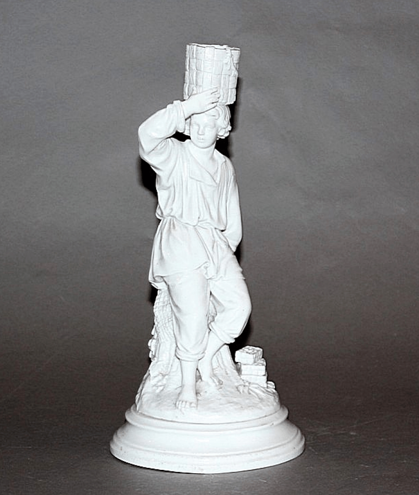 Candle holder made of porcelain.model A. K. Shpis, - photo 1