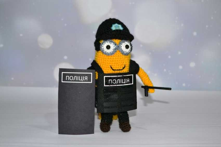 Tanya Derksch. Minion police officer - photo 1