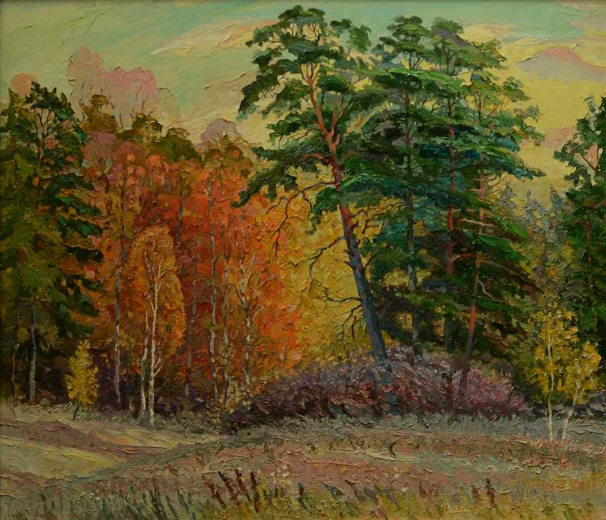 Sergey Kolokoltsov. September. On the edge of the forest. - photo 2