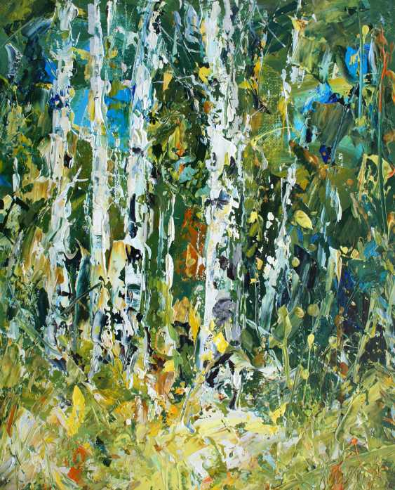 Valeriy Ushkov. Birches. - photo 1