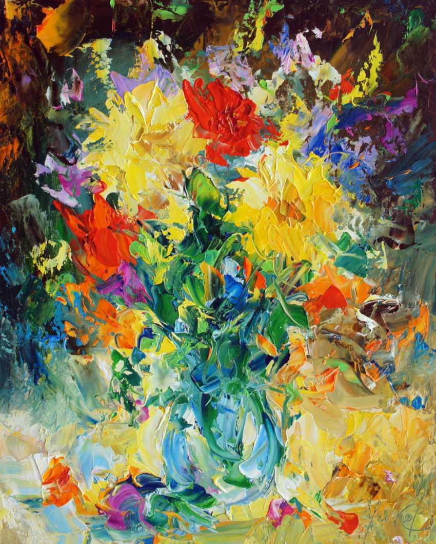 Valeriy Ushkov. Bouquet of flowers. - photo 1